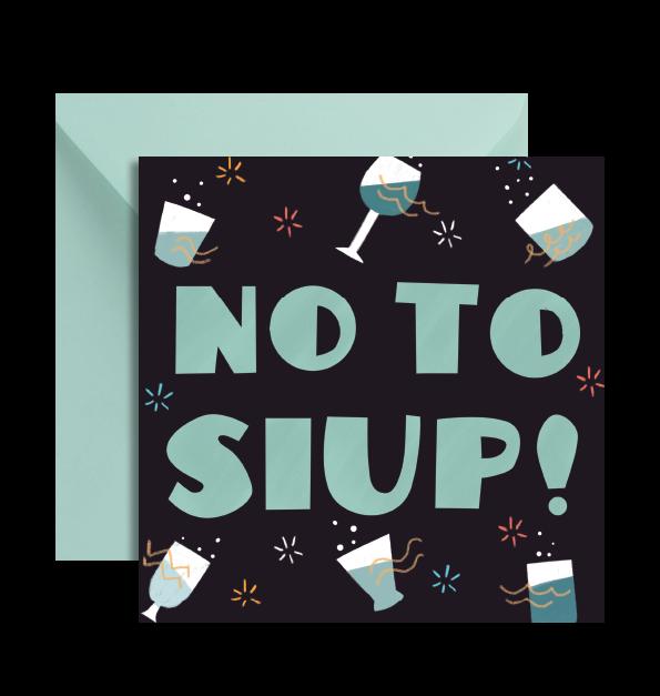 KARTKA NO TO SIUP